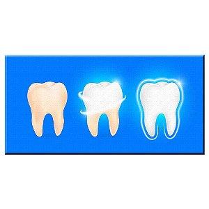 Quadro Consultorio Odontologico Dente 02 Tela Decorativa