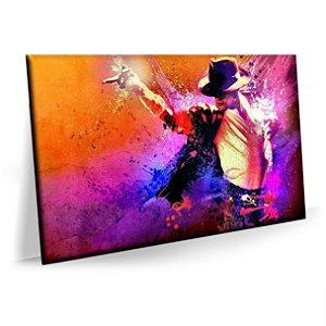 Quadro Michael Jackson Show Tela Decorativa
