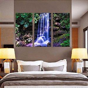 Conjunto 3 Quadro Cachoeira Magnifica