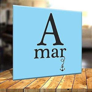 Placa Decorativa A Mar (AL) 30x30cm