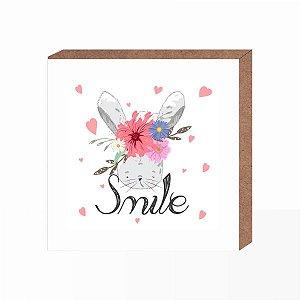 Quadro Infantil Smile  [ Box em MDF ]