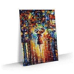 Quadro Abstrato Pintura  05 - Tela Tecido Canvas