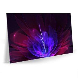 Quadro Flor Efeitos Tela Decorativa