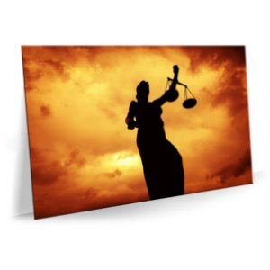 Quadro Advocacia Justiça Tela Decorativa