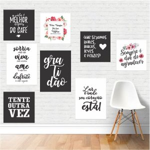 Kit 02 - Placas Decorativas
