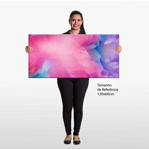 Quadro Efeitos Coloridos Tela Decorativa