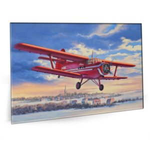 Quadro Aviao Air Plane Tela Decorativa