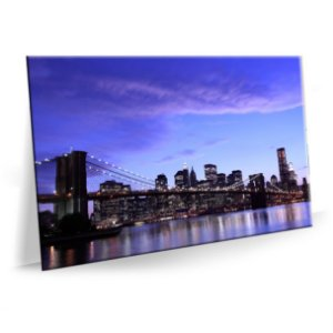 Quadro Brooklyn Nova York Tela Decorativa