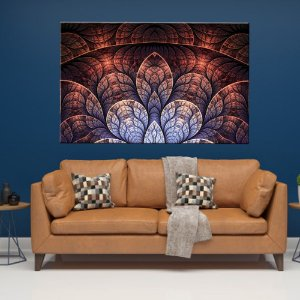 Quadro Vitral Rose Tela Decorativa
