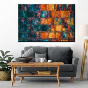 Quadro Canvas Abstrato Especial 40