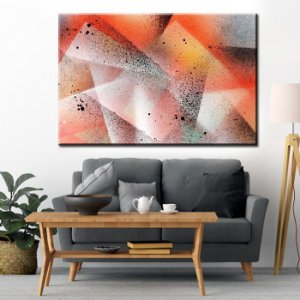 Quadro Canvas Abstrato Especial 37