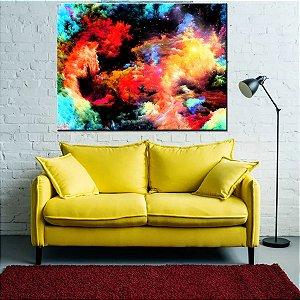 Quadro Canvas Abstrato Colorido