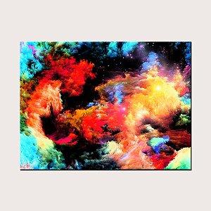 Quadro Tela Decorativa Abstrato Colorido