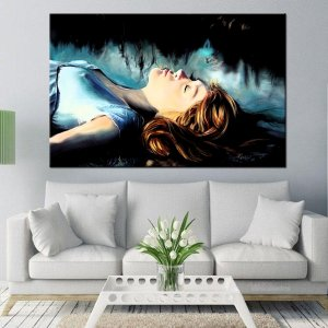 Quadro Canvas Pintura Princesa