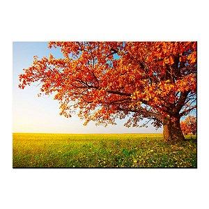 Quadro Tela Decorativa Paisagem de Outono