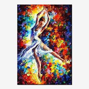 Quadro Tela Decorativa Dançarina