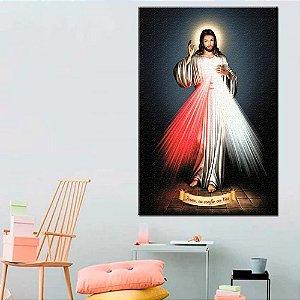 Quadro Tela Decorativa Jesus Misericordioso