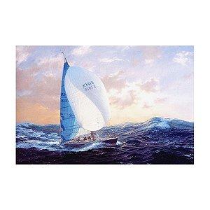 Quadro Tela Decorativa Navegando em Alto Mar