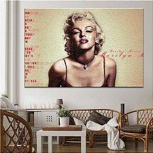 Quadro Tela Decorativa Marilyn Monroe Conceito
