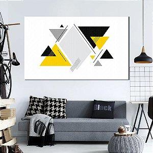 Quadro Tela Decorativa Abstrato Geometrico