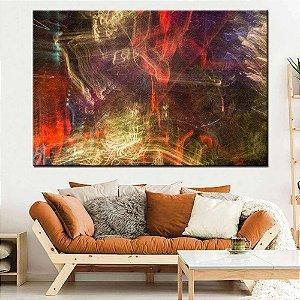 Quadro Tela Decorativa Abstrato Efeito Luares