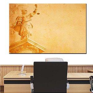 Quadro Tela Decorativa Deusa Grega da Justiça Advogado Advocacia