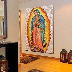 Quadro Tela Decorativa Nossa Senhora de Guadalupe