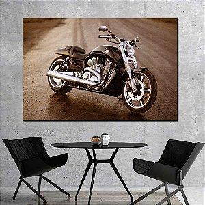 Quadro Tela Decorativa Harley Davidson