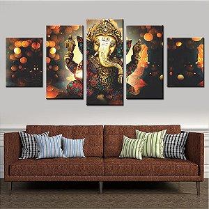 Quadro 5 Quadros Lord Ganesh