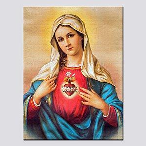 Quadro Decorativo Sagrado Coração de Maria