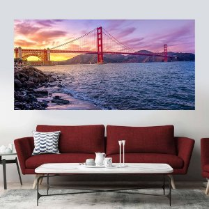Quadro Decorativo Ponte Golden Gate