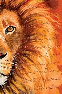Bíblia ACF SLIM Leão Laranja Letra Normal