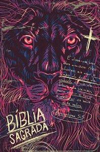 Bíblia ACF SLIM Lion Chalk Letra Normal