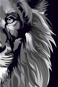 Bíblia NVT Lion Colors Black and White POP 960 - Letra Normal