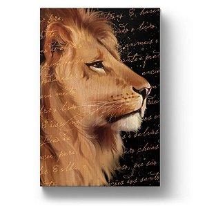 Bíblia ARC Leão de Judá - Letra Gigante - Com Harpa Avivada e Corinhos