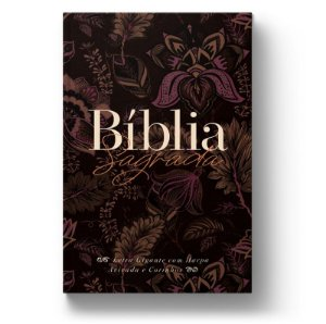 Bíblia ARC Perfume de Cristo - Letra Gigante - Com Harpa Avivada e Corinhos