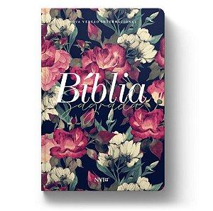 Bíblia NVI Luxo Slim - Jardim - Letra Grande