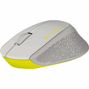 Mouse Sem Fio Wireless M280 Nano Cinza/Amarelo - Logitech