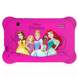 Tablet Infantil Disney Princesas Quad Core 8gb Wifi Tela 7