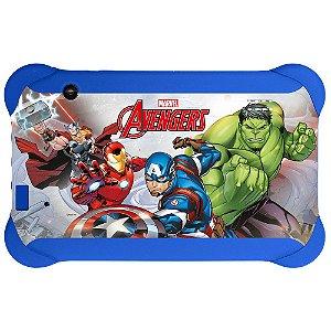 Tablet Multilaser Disney Vingadores Nb240 Azul Dual Câmera
