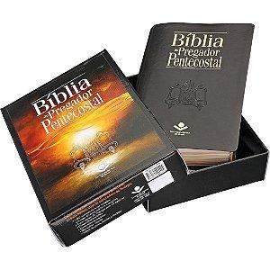 Biblia do Pregador Pentecostal Almeida Revista e Corrigida Preto