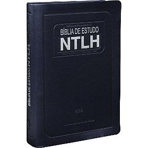 Bíblia De Estudo Ntlh Nova Tradução Na Linguagem De Hoje Azul