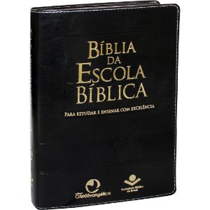 Bíblia Da Escola Bíblica Almeida Revista e Atualizada Preta