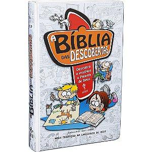 Bíblia Das Descobertas- Descubra E Pratique A Palavra de Deus Para Crianças Sbb Azul