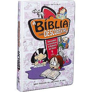Bíblia Das Descobertas- Descubra E Pratique A Palavra de Deus- Para Crianças Sbb Rosa