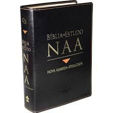 Bíblia De Estudo Naa - Nova Almeida Atualizada Com Índice e Caixa - Sbb