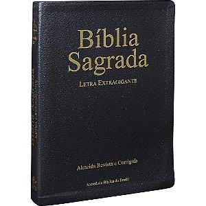 Bíblia Sagrada Letra Extragigante Almeida Revista Atualizada