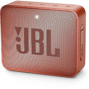 Caixa Multimídia Portátil Bluetooth GO 2 Canela JBL