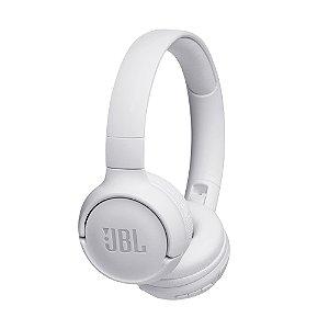 Fone de Ouvido Bluetooth On Ear Tune 500 Branco JBL