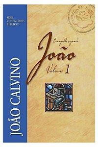 Livro Coment. Evang. João Vol 1 João Calvino Série Coment. Bíblicos